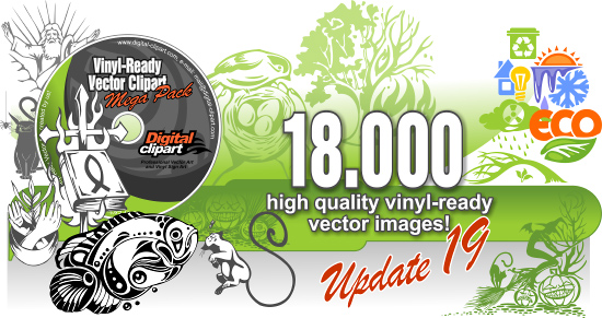 Vinyl-ready vector clipart
