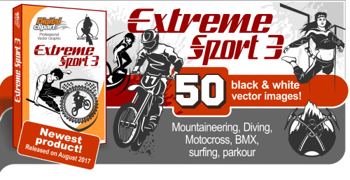 Extreme Sport 3  - Vector Clipart